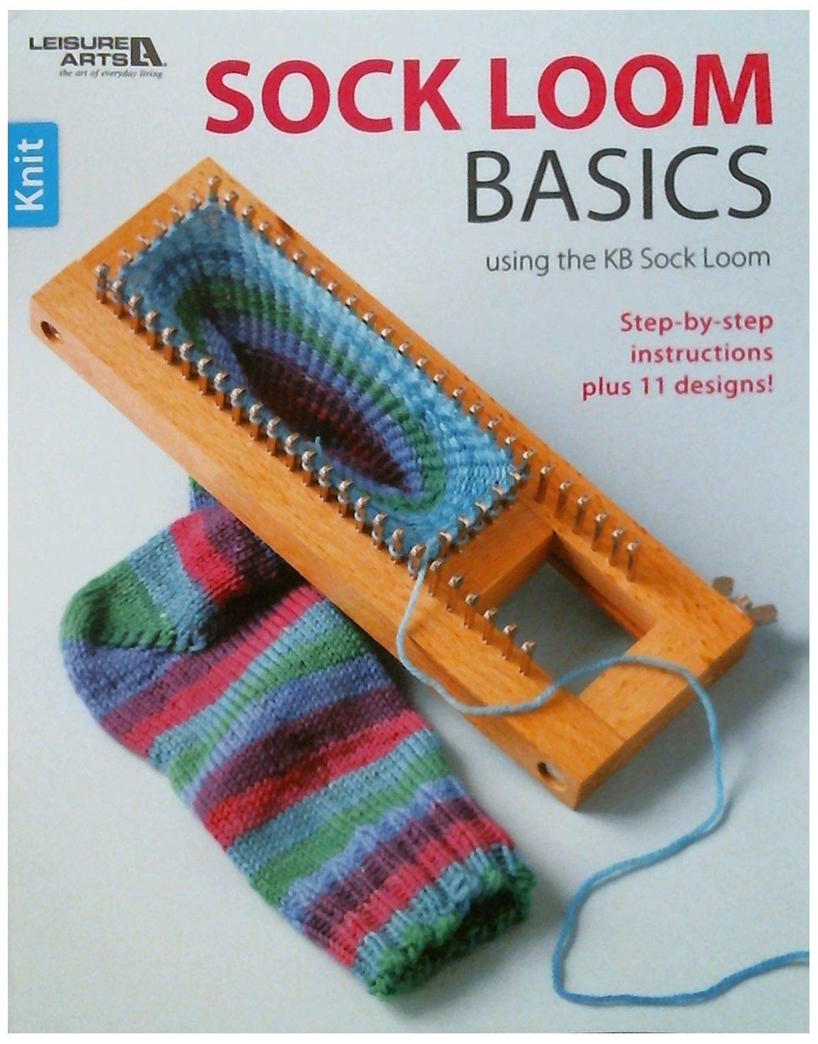 Sock Loom Book (Leisure Arts #5651) product image