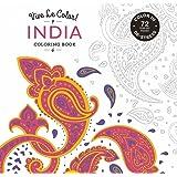 Vive Le Color! India (Adult Coloring Book): Color In; De-stress (72 Tear-out Pages)