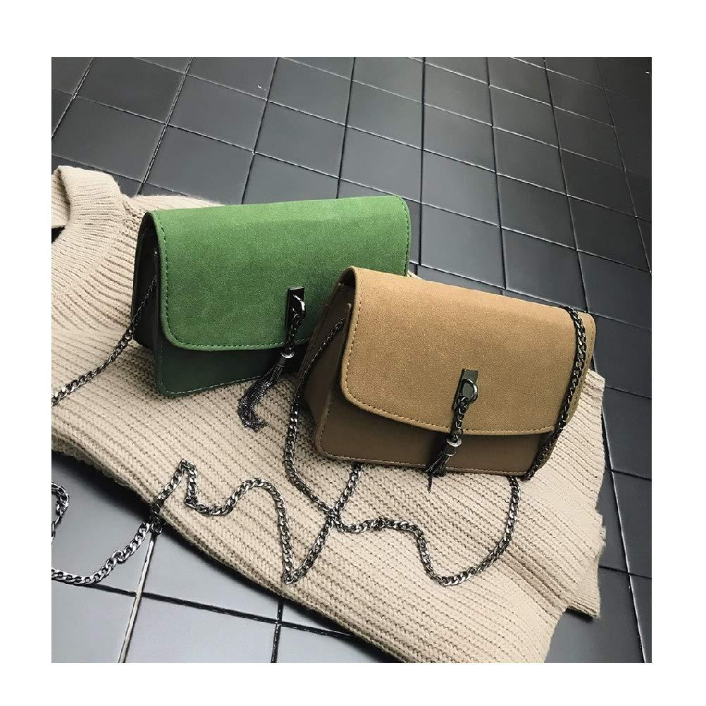 New 2019 hot selling Women Girl Fashion Frosted Style Patchwork Tassel Crossbody Shoulder Bag feminina