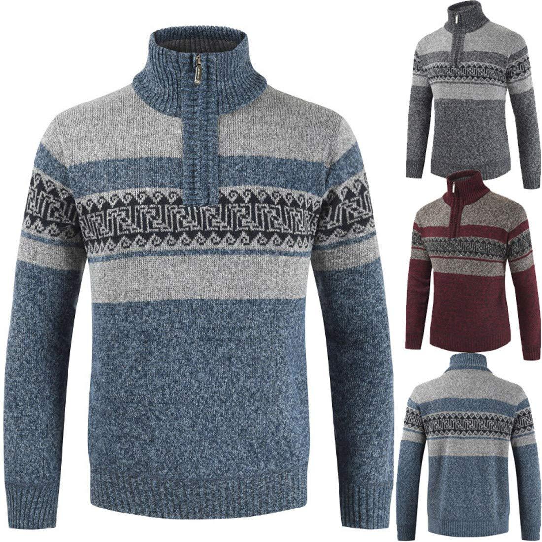 CAI&HONG-GUO GCH Herren Pullover Mode Plus SAMT