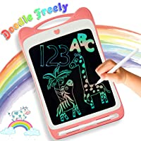 LODBY Toys for 2-10 Year Old Girls Gifts, Colorful LCD Drawing Doodle Board for...
