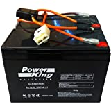 This is Compatible with The Razor 12 Volt 7Ah Electric Scooter Batteries Set of 2 Includes New Wiring Harness Instructions In