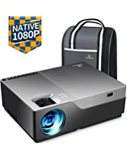 "VANKYO Performance V600 Native 1080P LED Projector, 5500 Lumens HDMI Projector with 300""Display Compatible TV Stick, HDMI, VGA, USB, Xbox, Laptop, iPhone Android for PowerPoint Presentation"