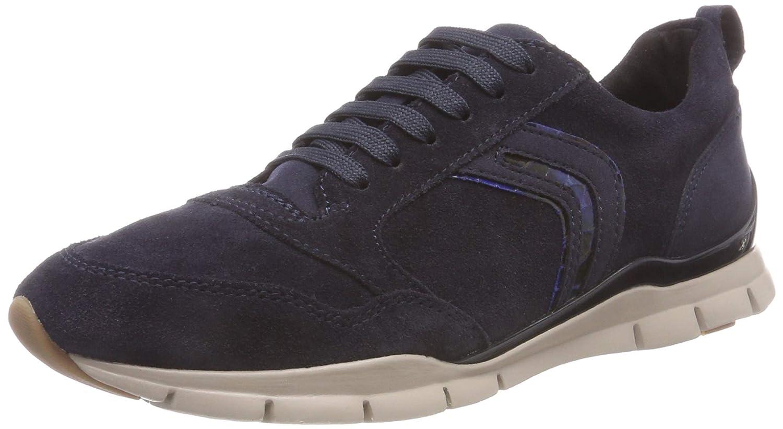 Geox D Sukie a, Zapatillas para Mujer 38 EU|(Navy C4002)
