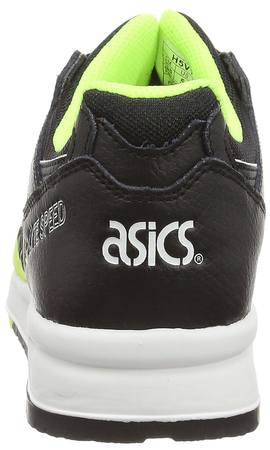 Asics Gel-Lyte Speed, (Saffety Unisex-Erwachsene Sneakers Gelb (Saffety Speed, Yellow/schwarz 0790) dc6cbf