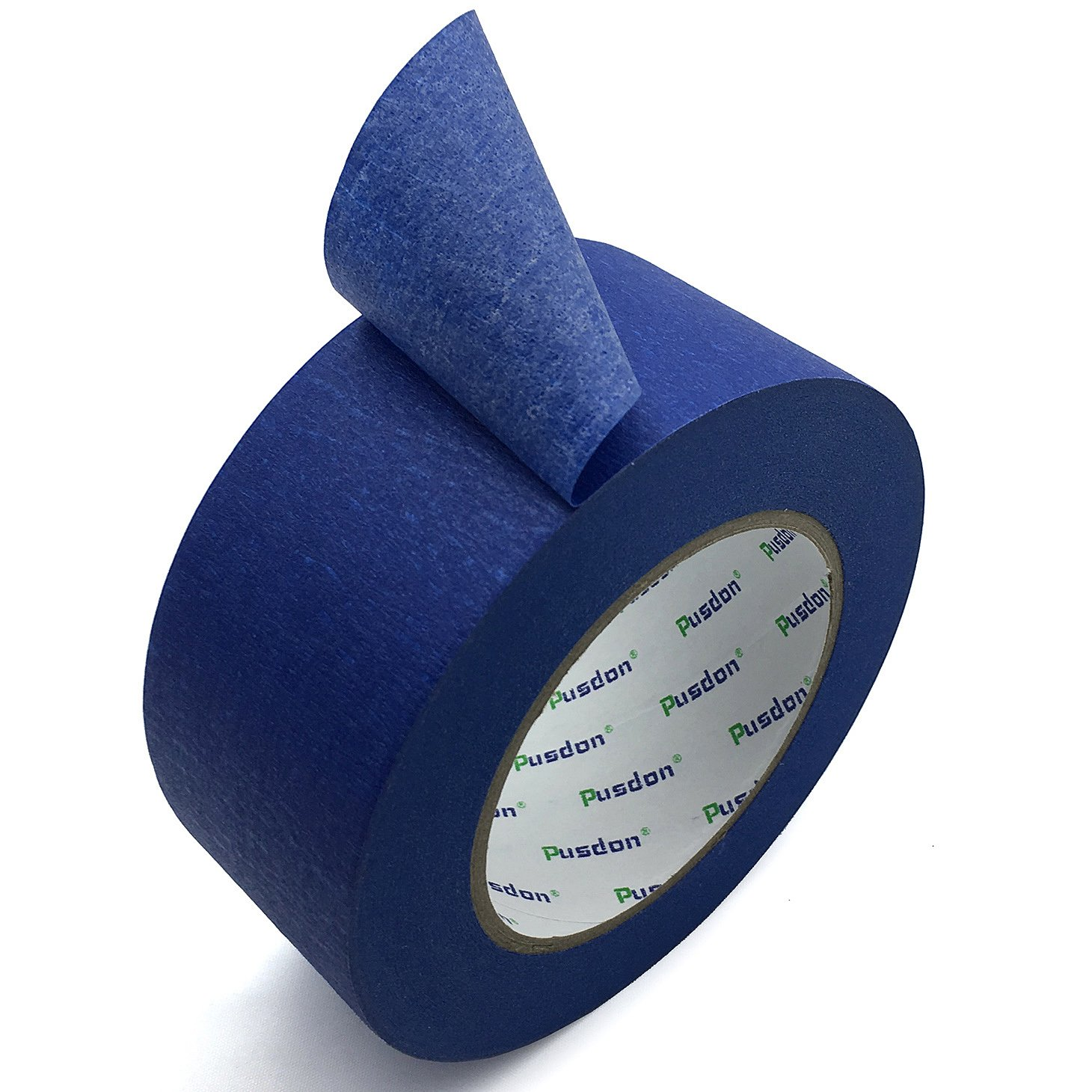 Pusdon Masking Tape, Painter's Tape, Blue, 2-Inch x 60 Yards (51mm x 55m)