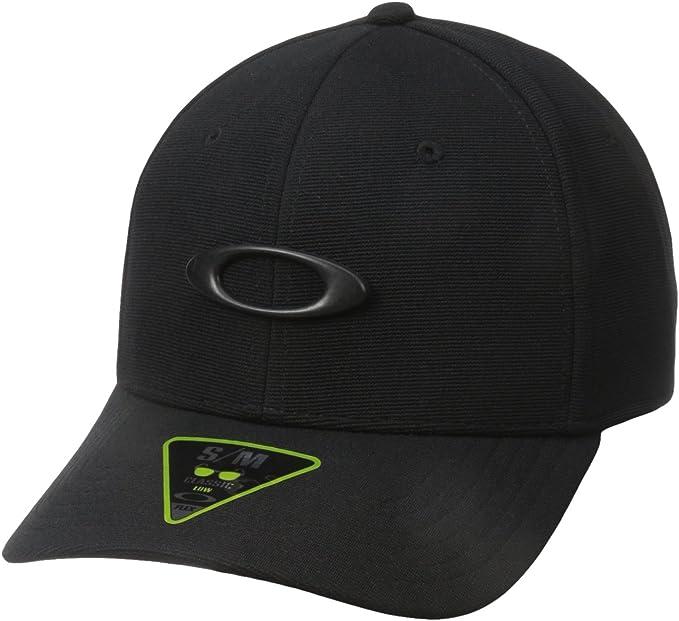 Amazon.com: Oakley mens Tincan Cap Hat, Black/Carbon Fiber, Large-X-Large US: Clothing