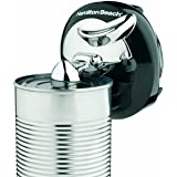 Hamilton Beach Walk 'n Cut Can Opener, Automatic Hands Free, Cordless & Rechargeable, Black (76501G)