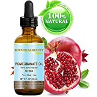 Botanical Beauty Pomegranate Oil -100% Pure, 100% Natural. For Face, Hair and Body...