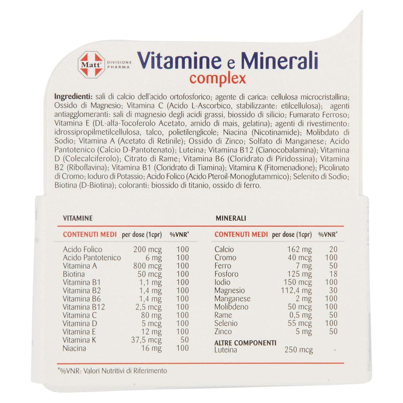 quali sono le migliori vitamine per gli uomini di energia negli anni 40