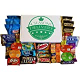 Sweet and Salty Snack Box, College Care Package, Movie Night Snacks, Military Care Package, Birthday and Holiday Gift, 4 SEAS