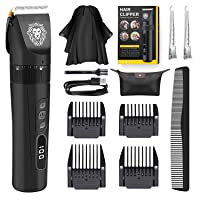 Deals on Plyrfoce Mens Professional Hair Clippers