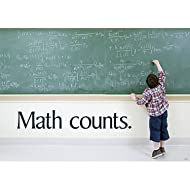 "Argus Math Counts Poster (1 Piece), 13.38"" x 19"""