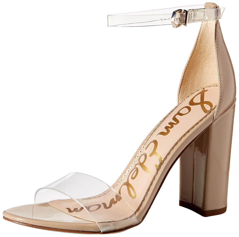 Clear Classic Nude Sam Edelman Women's Yaro Heeled Sandal