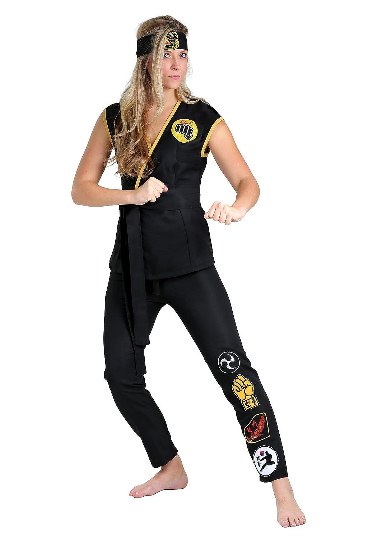 Cobra Kai Women's Fancy dress costume Large