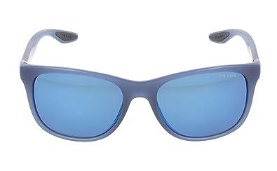 bd4e71411b19 ... 59 b00ad 6c012 spain prada mens ps03os sport sunglasses avio blue demi  shiny blue mirror 3d2c3 7a477 ...