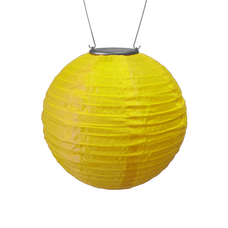 Jaune  Allsop Maison et jardin 25,4 cm Round Soji Lanterne solaire