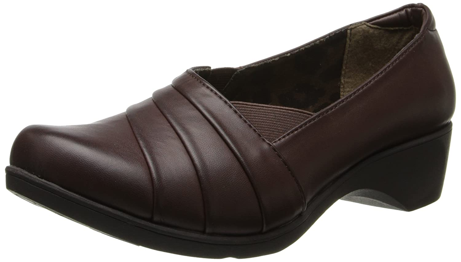 Soft Style by Hush Puppies Women's Kambra Slip-On Loafer B00HS1K9QE 7.5 B(M) US|Dark Brown Burnished