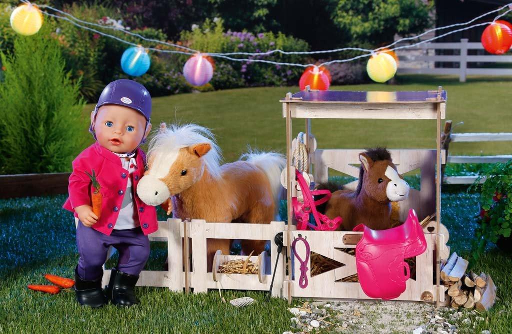 baby born pony farm