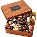 Chocolate Gift Basket , Gourmet Snack Food Box in Keepsake Tin, Great for Birthday, Sympathy, Family Parties & Get Well - Bon