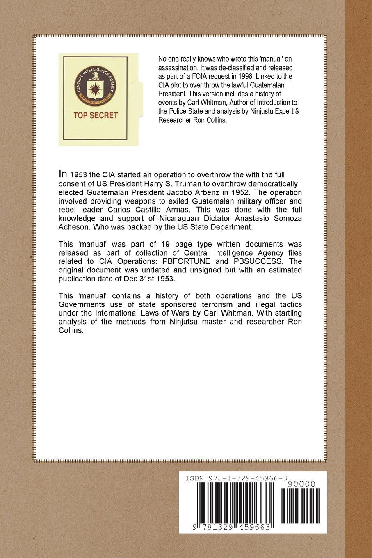 Manual pdf assassination cia