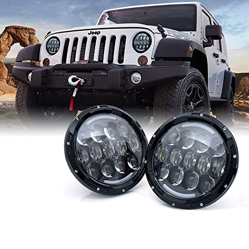 08 Jeep Led Headlights Amazon Com