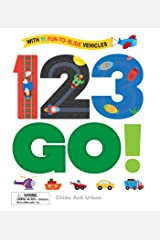 123 GO!: With 11 Fun-to-Slide Vehicles Board book