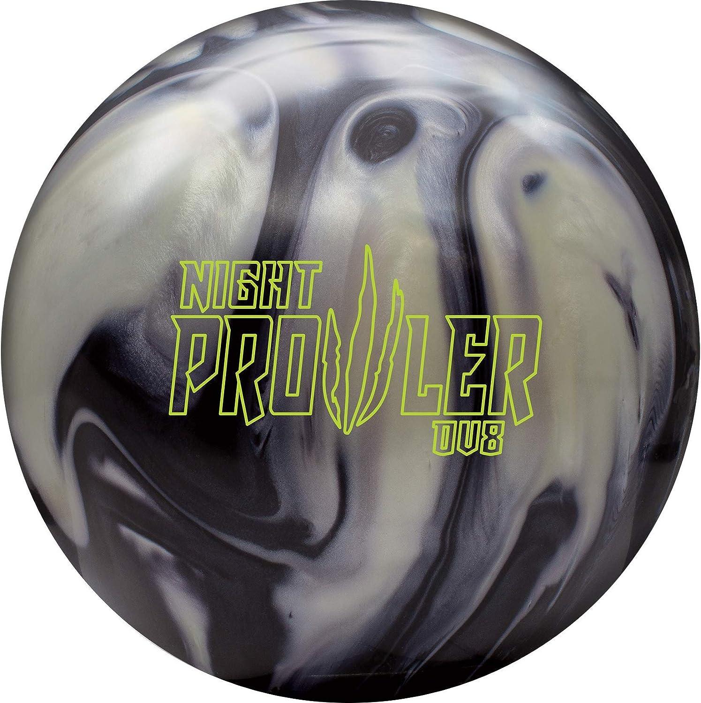DV8 Night Prowler ボウリングボール オニキス/スターリングシルバー  15lbs
