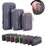 BAGAIL Microfiber Camping Towels Perfect Sports & Travel & Beach Towel. Fast Drying - Super Absorbent - Ultra Compact. Suitab