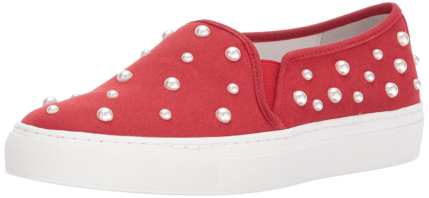Katy Perry Women's The Matilda Slipper B06XD75P29 10 B(M) US|Cherry Red