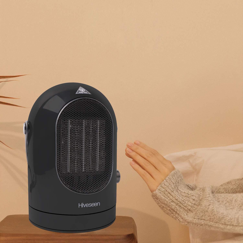 26bb6c8b9490d Hiveseen ファンヒーター  2018年最新改良版  暖房器具 セラミックヒーター 3秒速
