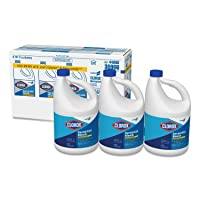 Clorox 30966CT Concentrated Germicidal Bleach Regular 121oz Bottle 3/Carton