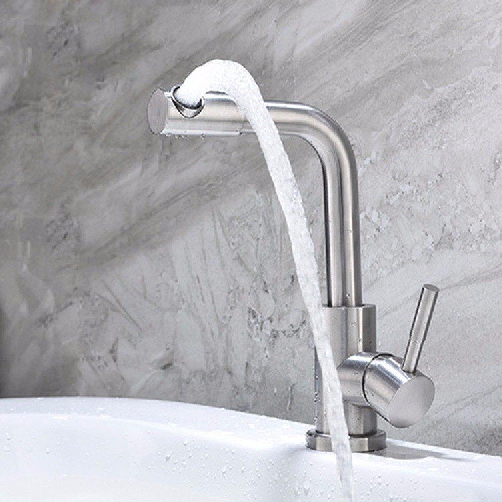 HQLCX Waschtischarmaturen 304 Stainless Steel, Heiß, Heiß - Becken Wasserhahn