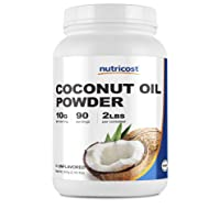 Nutricost Coconut Oil Powder 2 LBS (90 Servings) - Non-GMO and Gluten-Free - Premium...