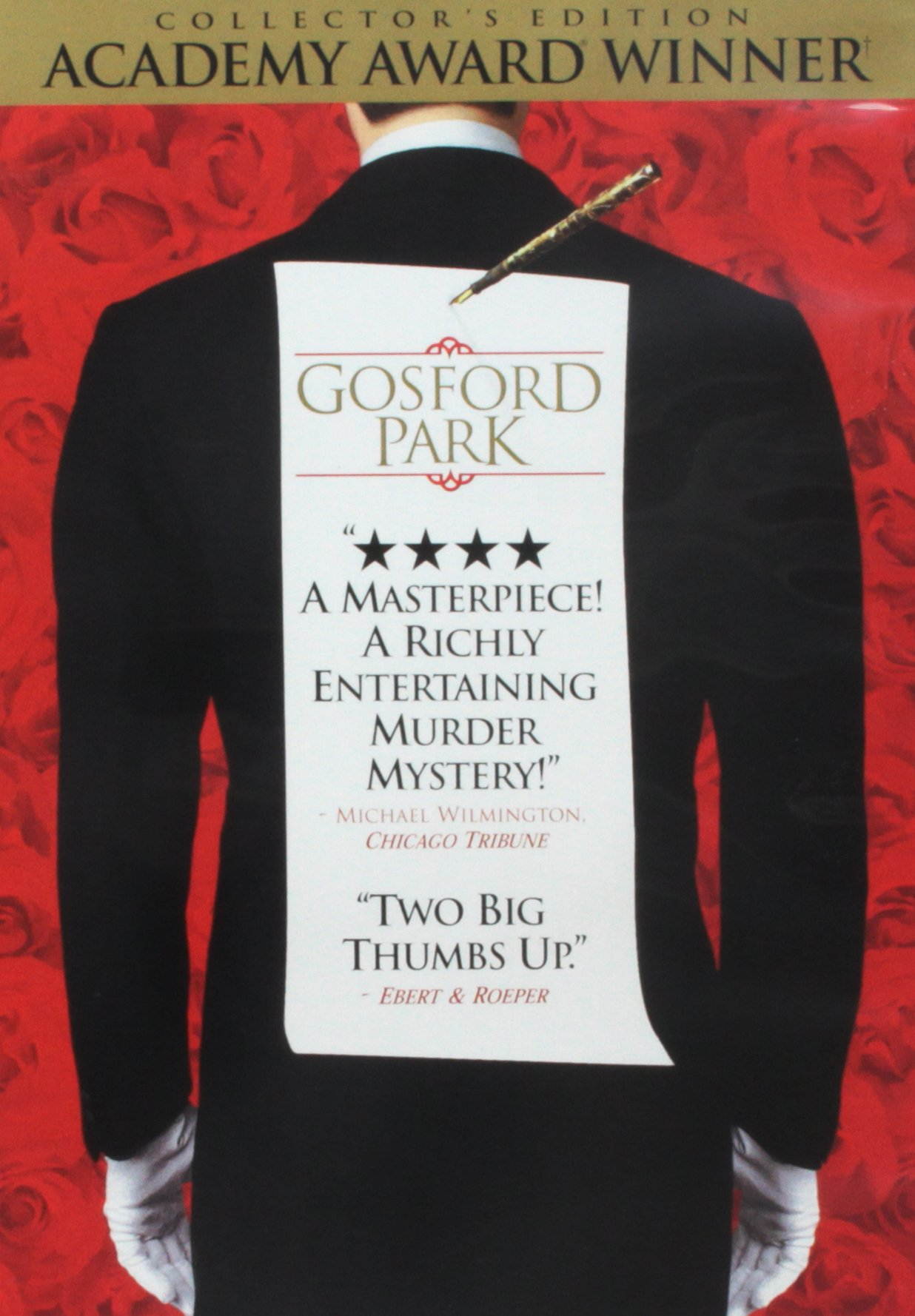 DVD : Gosford Park (Collector's Edition, Widescreen, , Repackaged)
