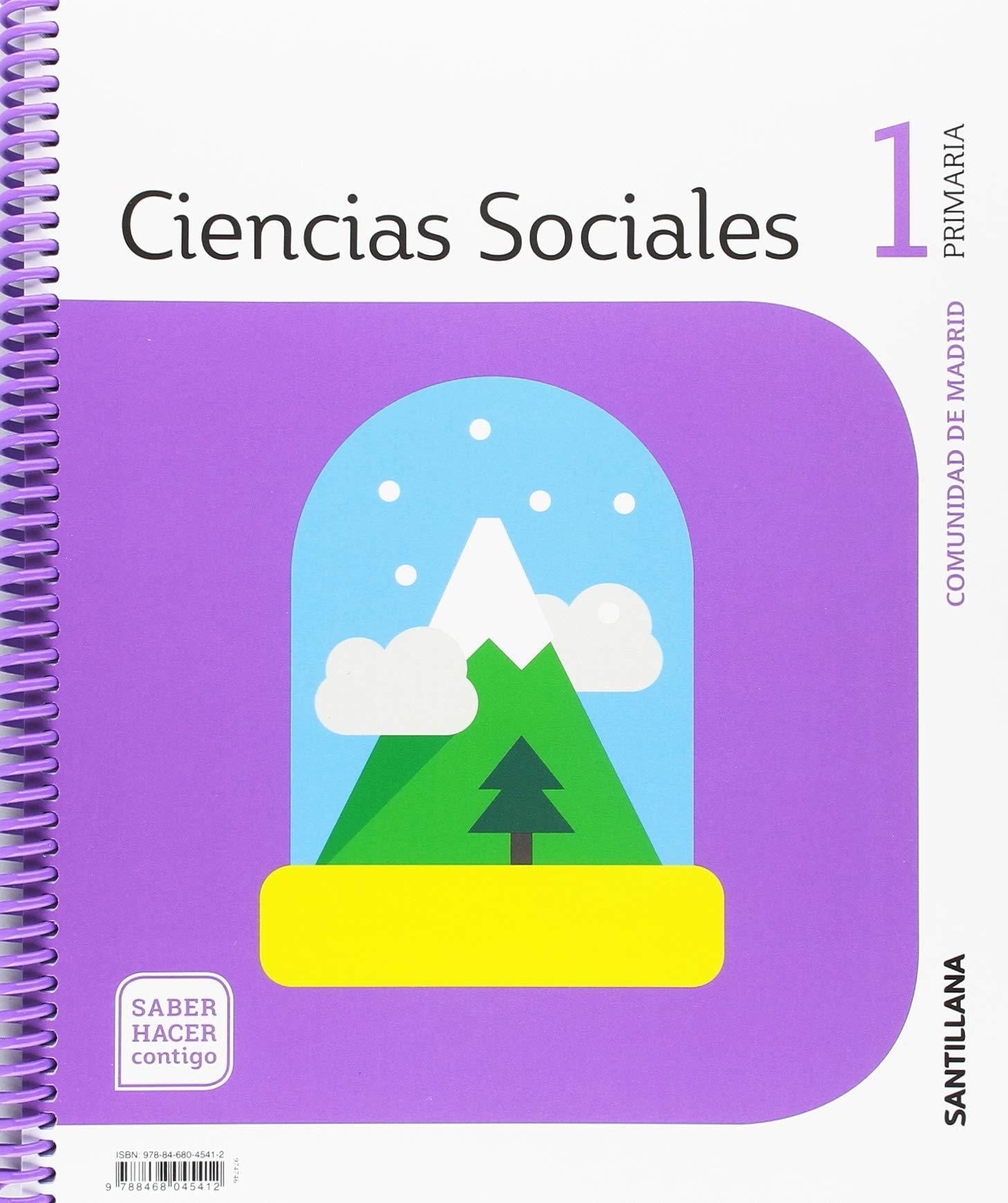 Ciencias Sociales 1 Primaria Saber Hacer Contigo Amazon Es Vv Aa Vv Aa Libros