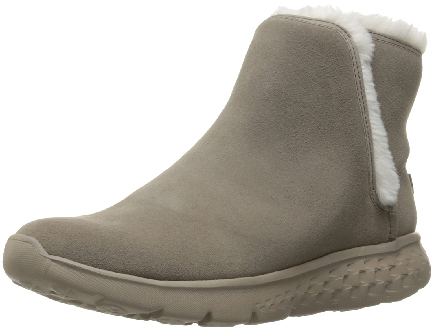 Taupe Skechers Performance Women's On The Go 400 Blaze Winter Boot
