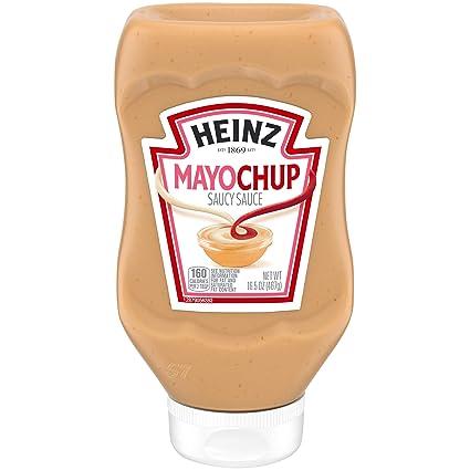 Homemade salad dressing with mayo and ketchup