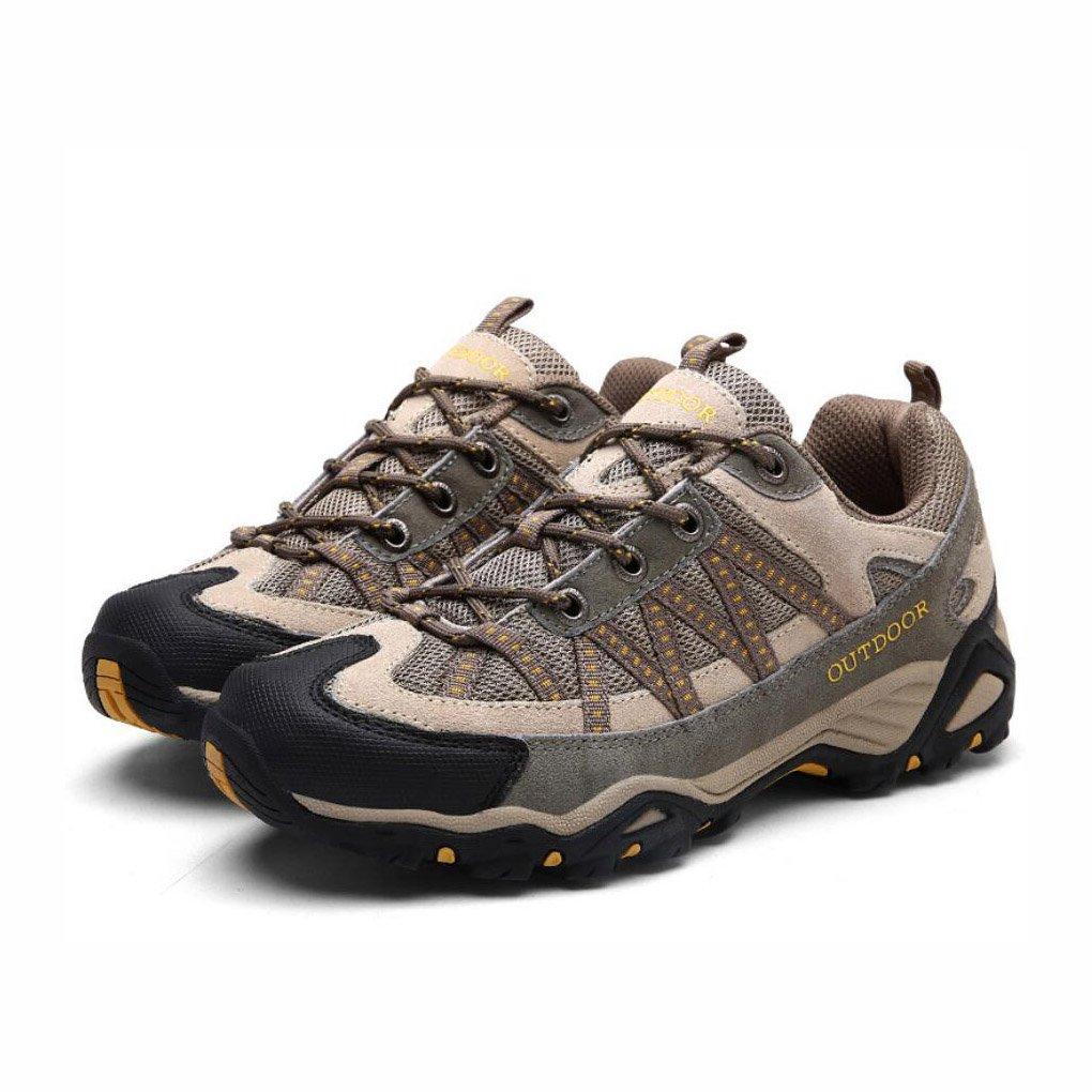 WYX WYX WYX Schuhe Herren Wanderschuhe, Outdoor Walking Running, leichte Mesh-Trainer, atmungsaktive Trekking Kletterschuhe, Schnürschuhe Low-Rise, für Fitness Walking & Reisen im Freien b7dc19