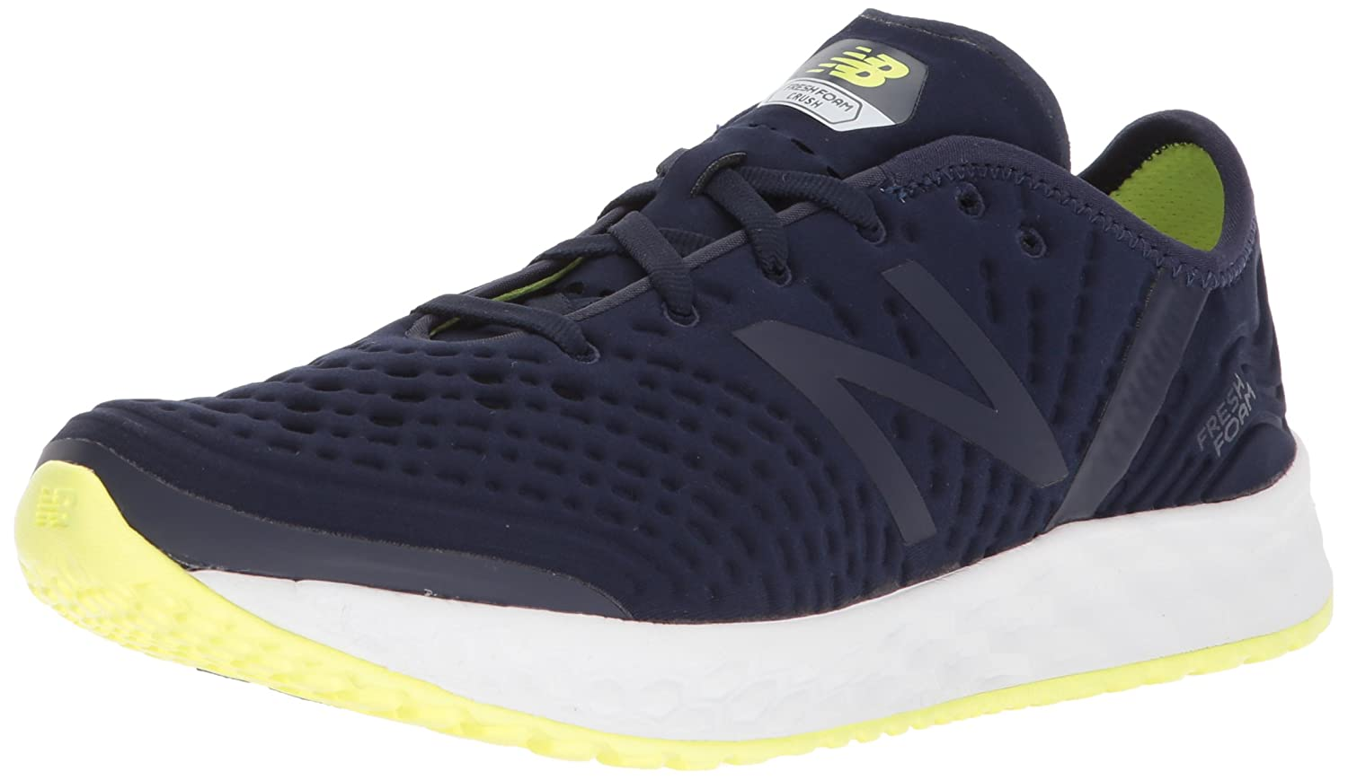 New Balance Women's Fresh Foam Crush V1 Cross Trainer B005ATPTIO 5 D US|Pigment/Solar Yellow