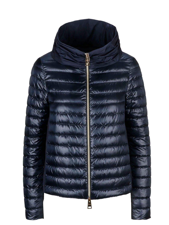 Brand Size 42 HERNO Women's PI0927D120179200 blueee Polyamide Down Jacket
