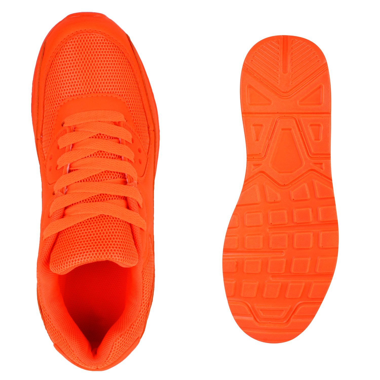 Japado Knallige Damen Herren Unisex Sportschuhe Auffällige Neon-Sneakers Tragekomfort Sportlicher Eyecatcher Alltags-Look Angenehmer Tragekomfort Neon-Sneakers Gr. 36-45 Neonorange 582b94