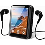 MP3 Player Bluetooth 5.0 Touch Screen Music Player Portable mp3 Player with Speakers high Fidelity Lossless Sound Quality mp3