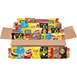 Frito-Lay Sweet & Salty Snacks Variety Box, Mix of Cookies, Crackers, Chips & Nuts, 50 Sweet & Salty Care Package ,1 Count