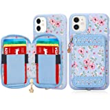 WWW iPhone 11 Case(6.1 inch),iPhone 11 Wallet Case,Premium PU Leather Wallet Case with Card Holder Slots Zipper Wallet Pocket