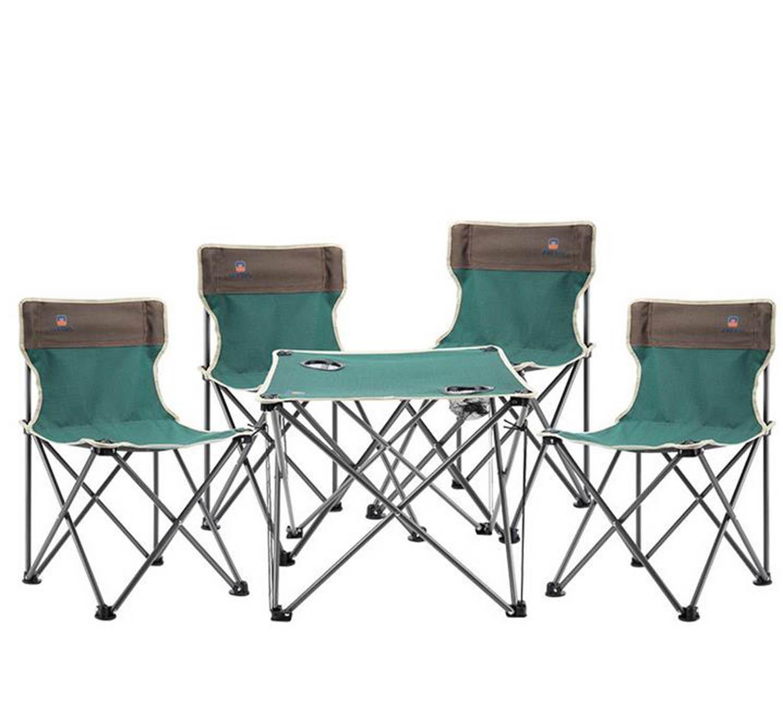 Strandstuhl Tisch Tisch und Stühle Fünf - Klapptische und Stühle Freizeit Strand Stühle, Falten Quad Camp Stuhl , B