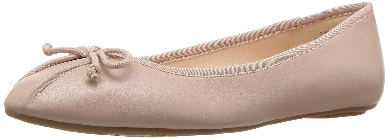 Nine West Women's Batoka Leather Ballet Flat B01N8W2TKU 11 B(M) US|Natural