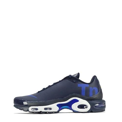 more photos bd48d e431c ... tuned 1 dark 95673 5dd57  spain nike mens air max plus tn se trainers  blue blue blue size ebeea 83ed0