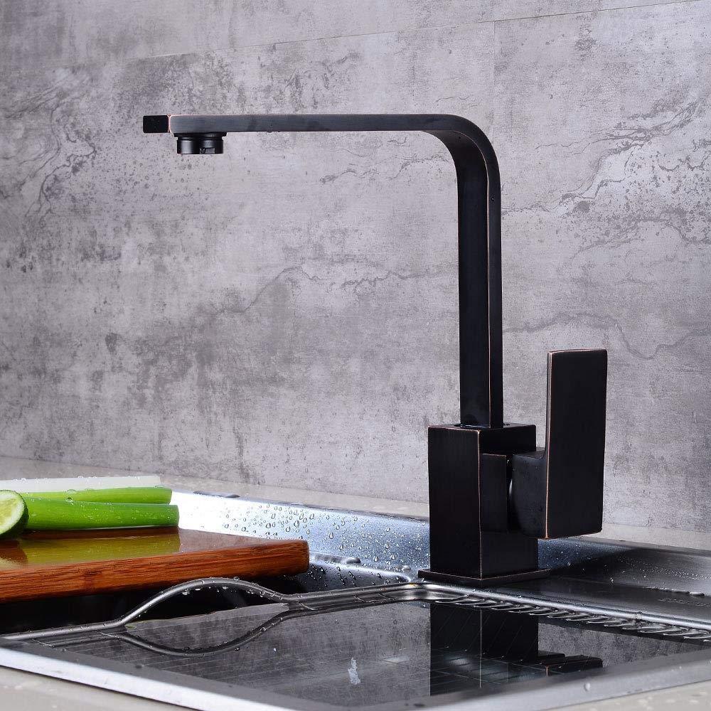 Taps Faucet Kitchen Quartet Hot and Cold Faucet Retro redary Sink Faucet