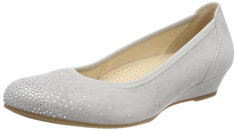Gabor Shoes Comfort Sport, Bailarinas para Mujer 42.5 EU|Gris (Light Grey)